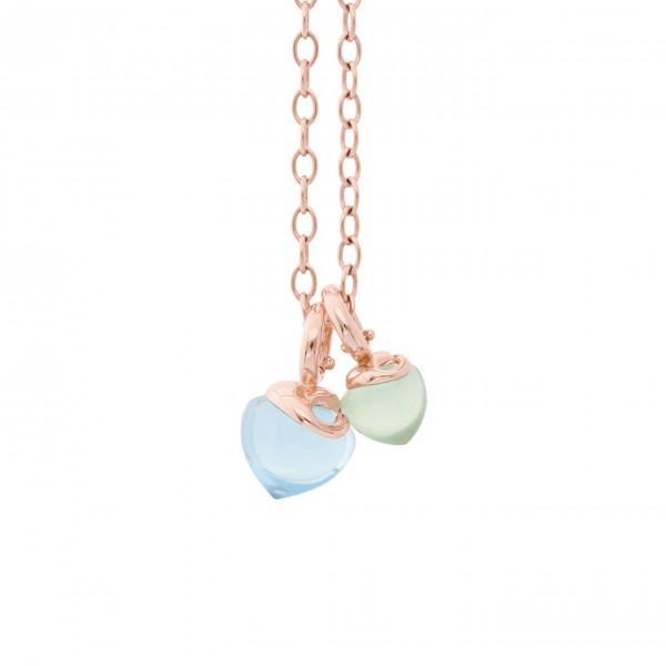 Infinity Halskette Aqua Colors
